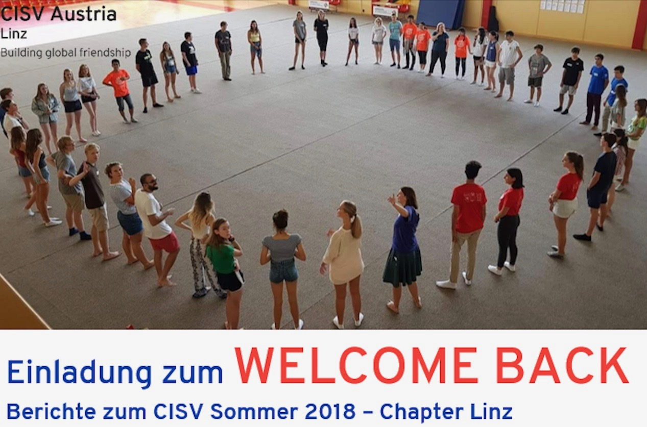 Welcome Back (Chapter Linz)