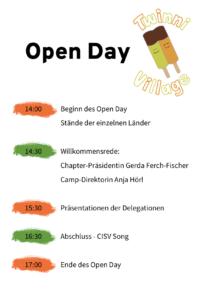 Open Day - Klick auf's Bild!