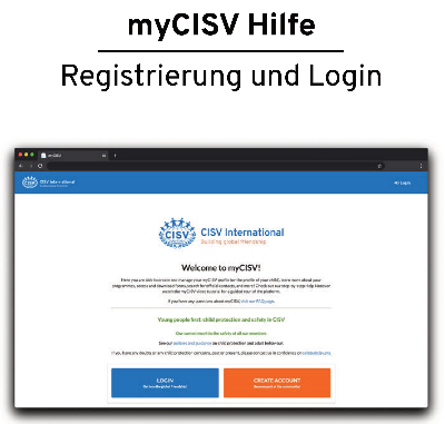 myCISV Helper Notes in Deutsch
