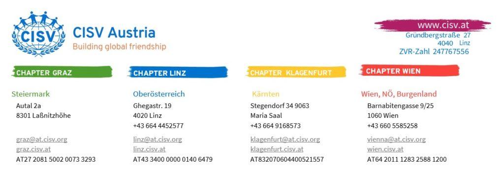 CISV Austria Letterhead